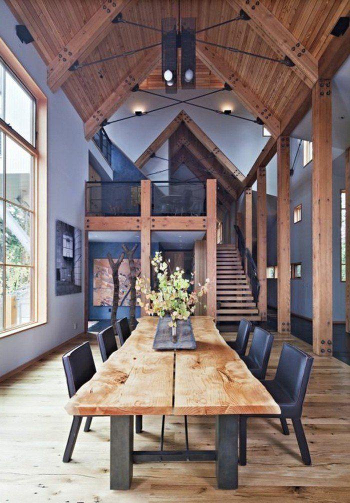 Salle manger meubles de salle manger table de repas - Salle a manger en bois ...