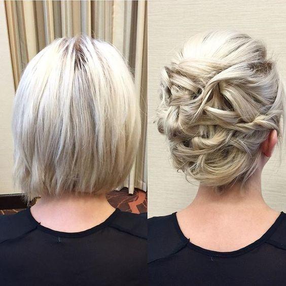 Description. Belles Coiffures Pratiques Pour Cheveux Courts