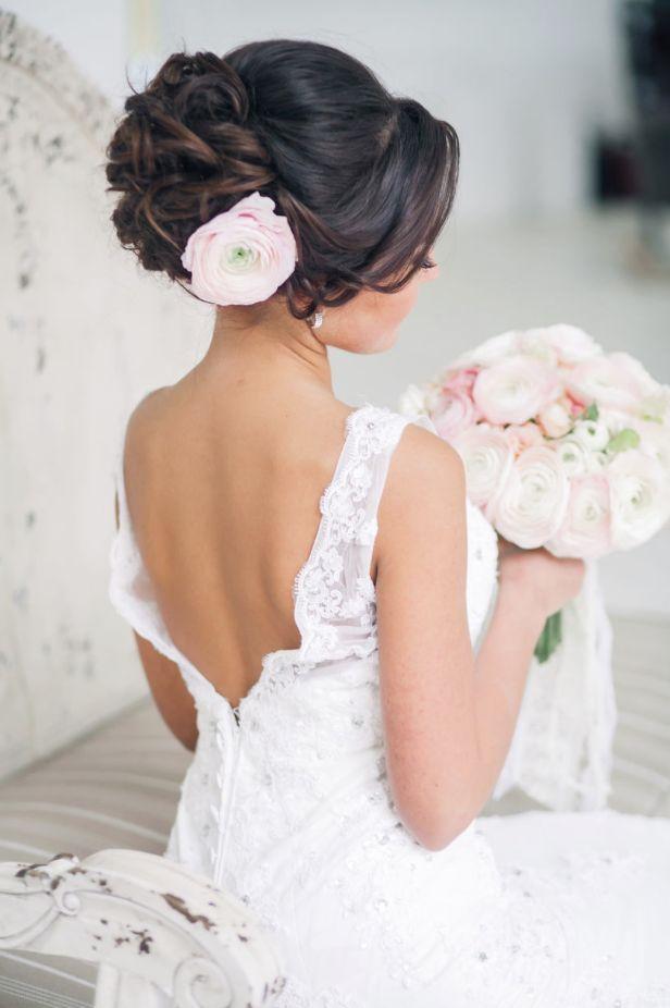 Idee coiffure mariage romantique