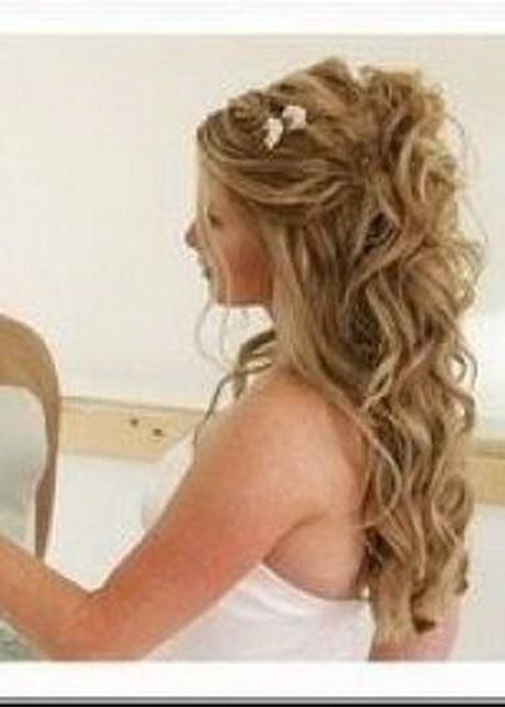 Coiffure femme cheveux long chignon