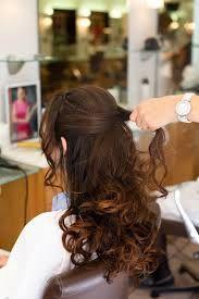 Coiffure de mariage 2017 - coiffure mariage cheveux mi long bouclés cheveux lachés - Recherche ...