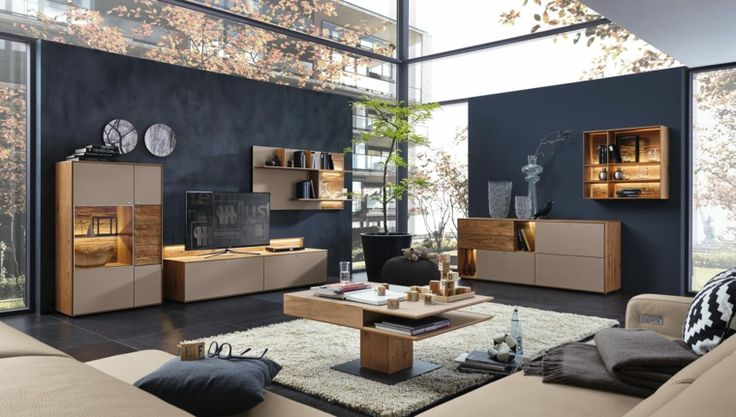 Déco Salon - 25 idées d\'aménagement salon moderne par Musterring ...