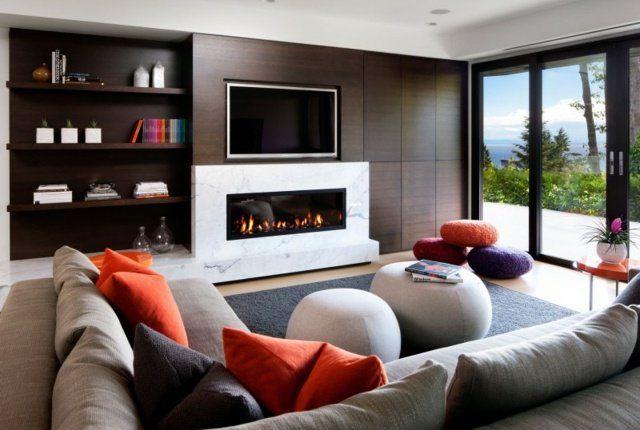 Déco Salon - 70 idées originales pour aménagement de salon moderne ...