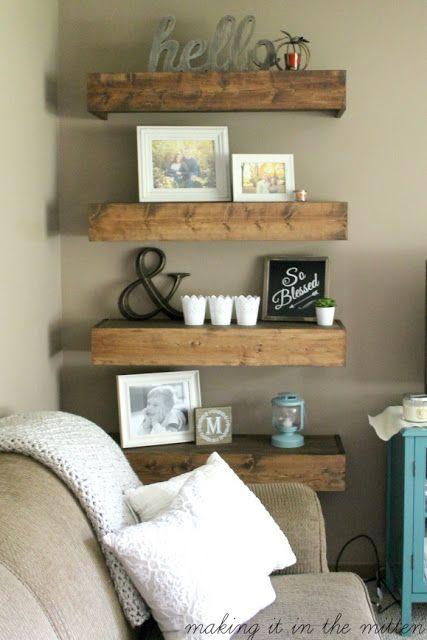 D co salon diy wood shelves leading inspiration culture lifestyle magazine - Diy deco salon ...