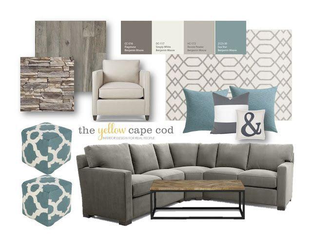 D co salon family cave lower level basement living for Tight living room designs