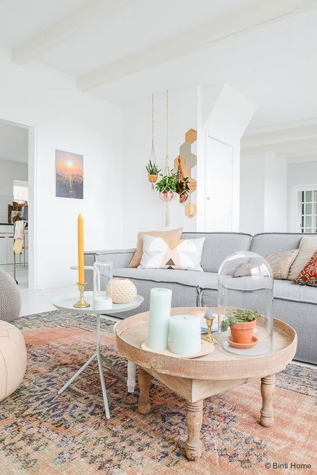 Déco Salon - Pinterest : 25 intérieurs aux couleurs pastel pour s'inspirer - ListSpirit.com ...