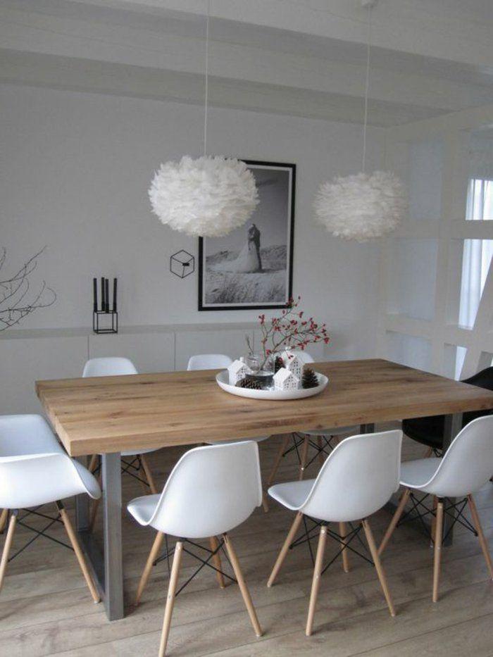 Emejing Salle A Manger Sol Gris Photos - House Design - marcomilone.com