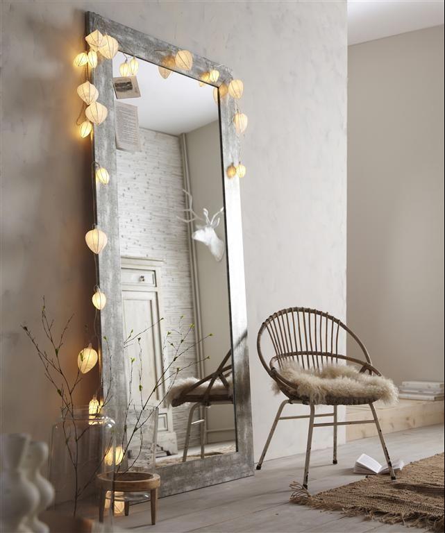 D co salon un grand miroir pour agrandir une pi ce mais aussi pour donner votre int ri - Grand miroir pour salon ...