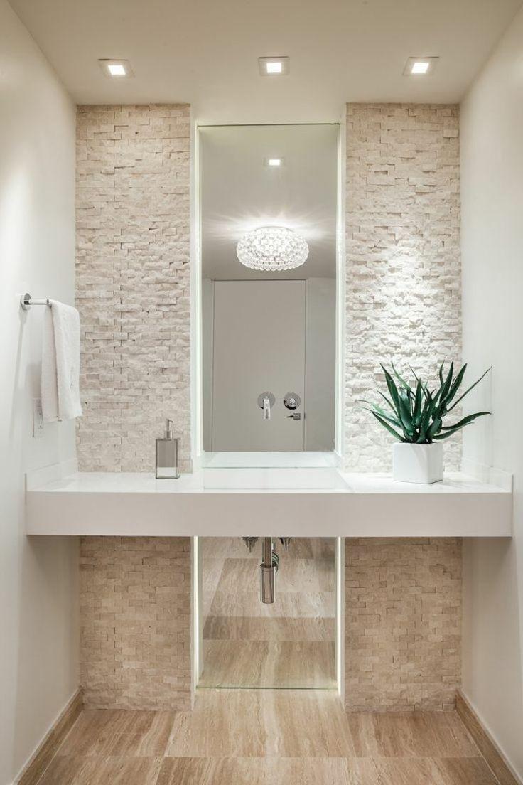 Idée décoration Salle de bain - Carrelage travertin salle de bain et ...