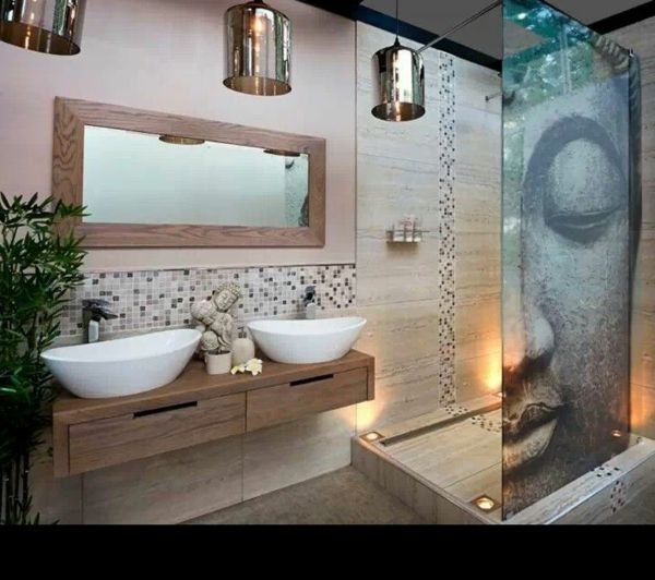 id e d coration salle de bain d co salle de bain zen leading inspiration. Black Bedroom Furniture Sets. Home Design Ideas