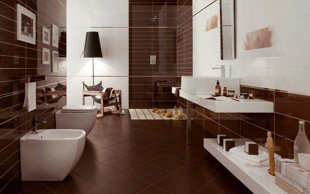 Idée décoration Salle de bain - idées carrelage salle de ...