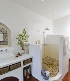 id e d coration salle de bain niche c t des wc. Black Bedroom Furniture Sets. Home Design Ideas