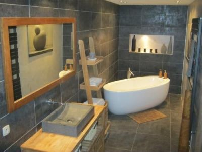 Description. Salle De Bain Contemporaine ...