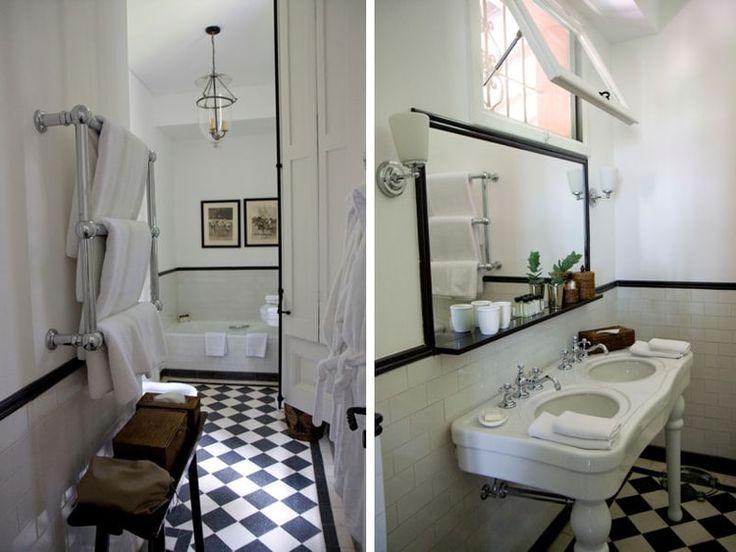 Idée décoration Salle de bain - Salle de bains rétro - ListSpirit ...