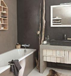 Idée décoration Salle de bain - Une petite salle de bain à ...