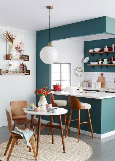 Am nagement petite cuisine ouverte sur salon listspirit - Cuisine ouverte petit espace ...