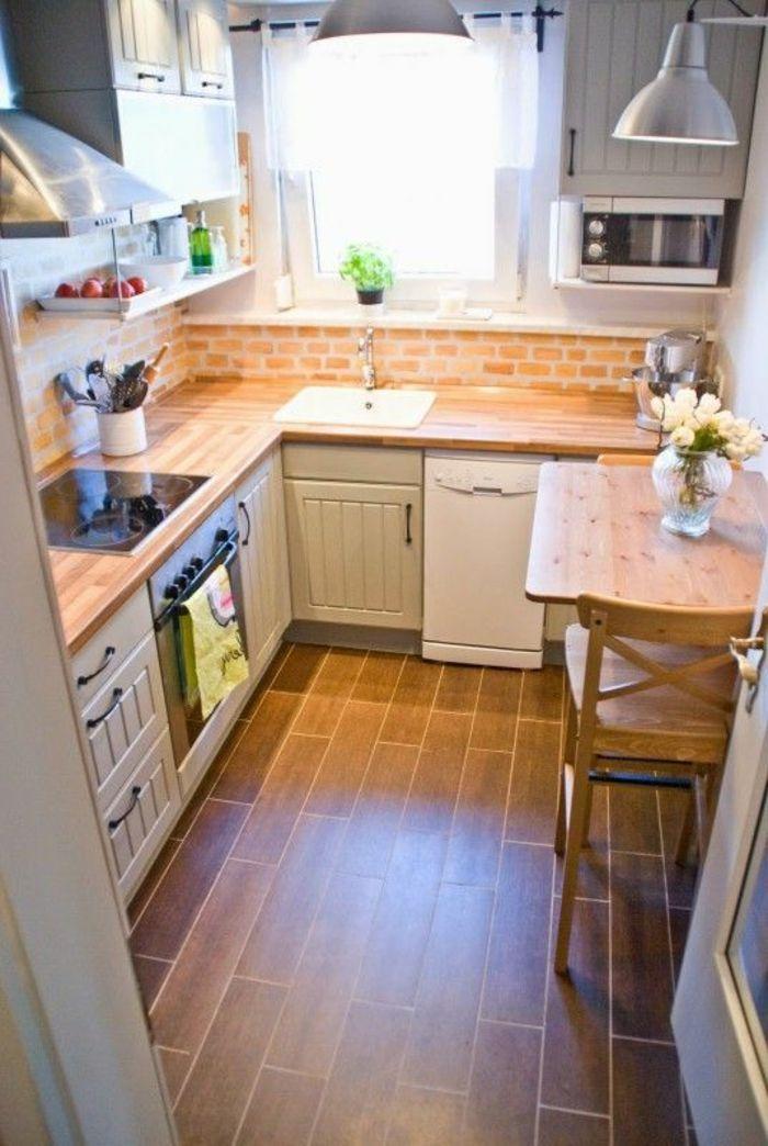 id e relooking cuisine comment am nager une petite cuisine id es en photos. Black Bedroom Furniture Sets. Home Design Ideas