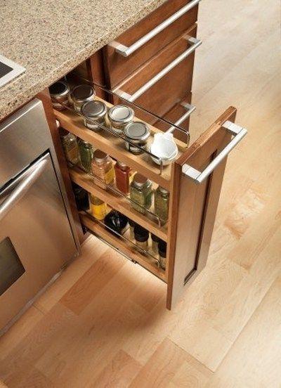 Counter Cabinets Base Modular Kitchen Cabinets Spice Rack