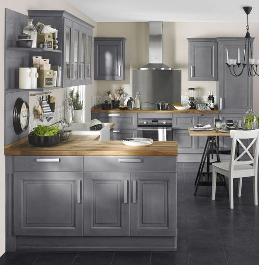 Id e relooking cuisine cuisine style maison de for Idee cuisine campagne