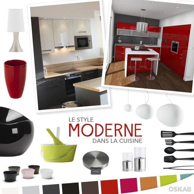id e relooking cuisine d couvrez notre planche de tendance sur le style moderne pour recr er. Black Bedroom Furniture Sets. Home Design Ideas