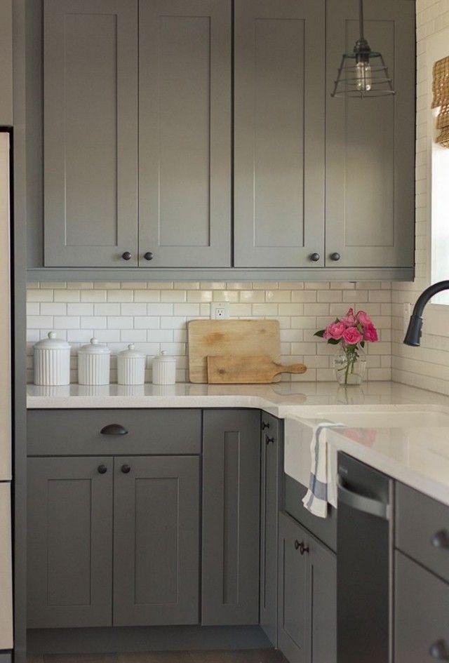 id e relooking cuisine le gris dans la cuisine cocon de d coration le blog. Black Bedroom Furniture Sets. Home Design Ideas