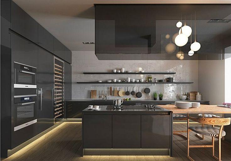 Idée relooking cuisine - modèle de cuisine moderne et meubles en ...