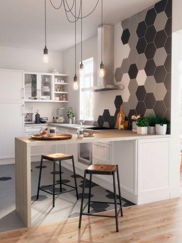 Id e relooking cuisine pour le motif carrelage mur for Decoration cuisine kawaii