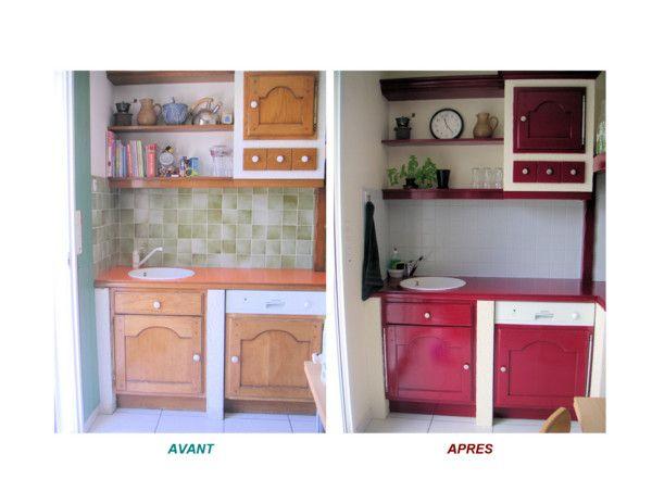 Id e relooking cuisine repeindre sa cuisine avant apres recherche google - Repeindre sa cuisine avant apres ...