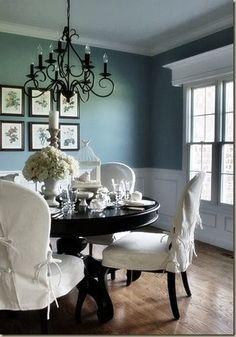 Salle Manger Blues Home Decorating Design Forum