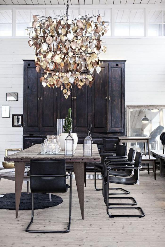 Buffet salle manger armoire noire pour salle manger for Armoire salle a manger design
