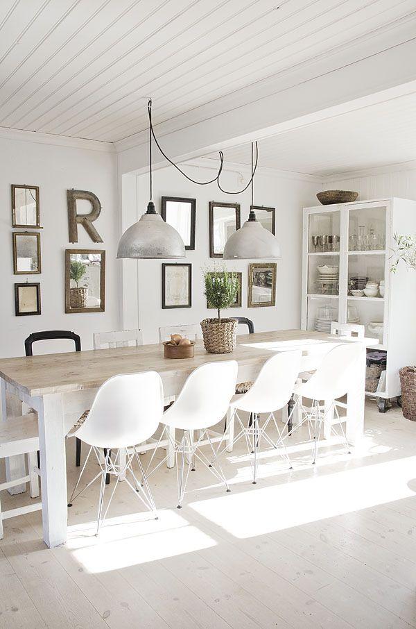 Salle à Manger Inspiration Scandinave Cosy Neve Design