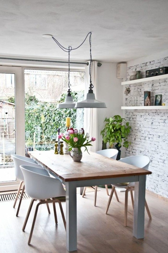 Salle manger nos propositions pour votre salle manger compl te en 42 photos listspirit - Deco salle a manger industrielle ...