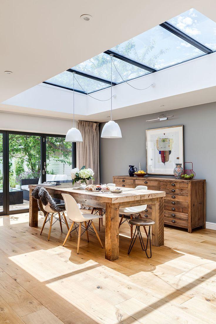 salle manger sophisticated open plan kitchen redesign real homes. Black Bedroom Furniture Sets. Home Design Ideas