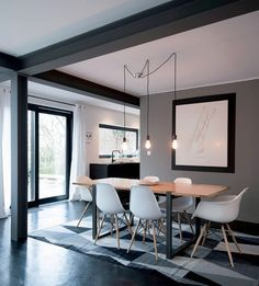 Beautiful Idee Deco Salle A Manger Moderne Contemporary - Amazing ...