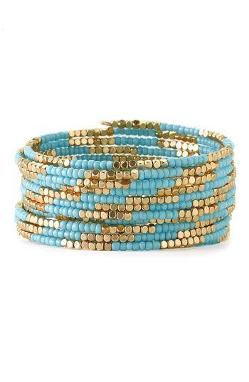 how to make a bracelet coil