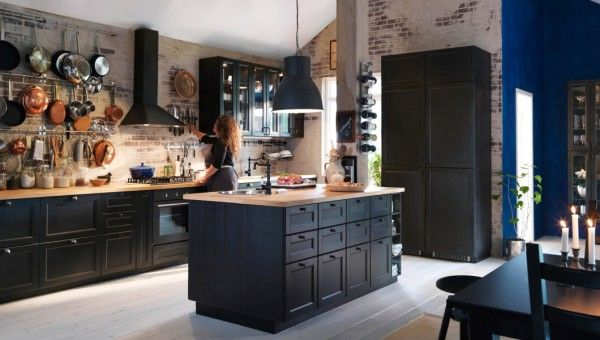 id e relooking cuisine cuisine bistrot 23 id es d co pour un style bistrot listspirit. Black Bedroom Furniture Sets. Home Design Ideas