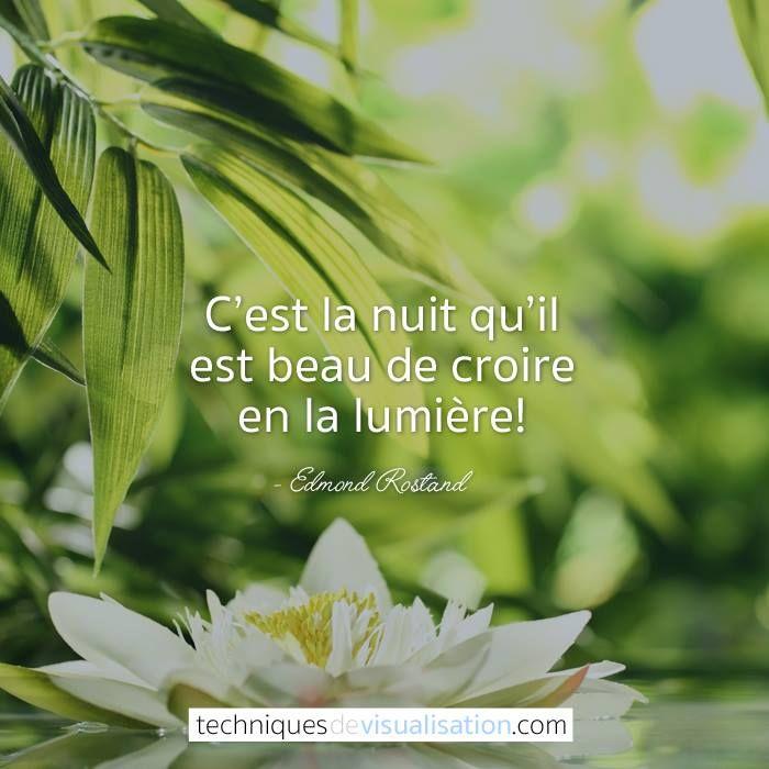 Citation Edmond Rostand C Est La Nuit Qu Il Est Beau De