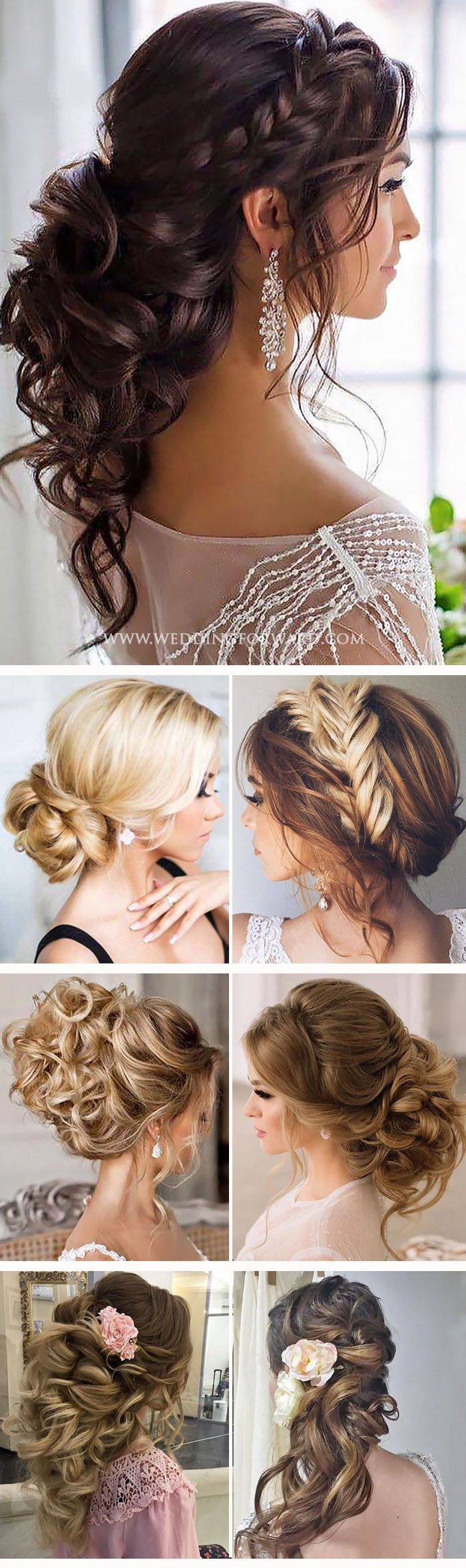coiffure de mariage 2017 killer swept back wedding hairstyles if you are not sure which. Black Bedroom Furniture Sets. Home Design Ideas