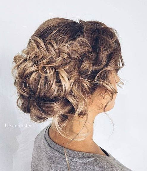 coiffure de mariage 2017 pretty updo hairstyle for prom leading. Black Bedroom Furniture Sets. Home Design Ideas