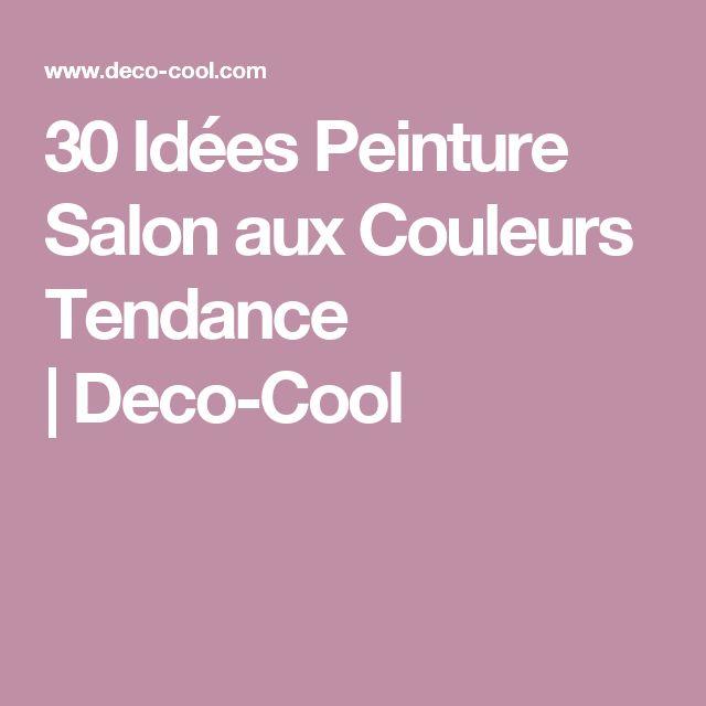 D co salon 30 id es peinture salon aux couleurs tendance for Magazine tendance deco