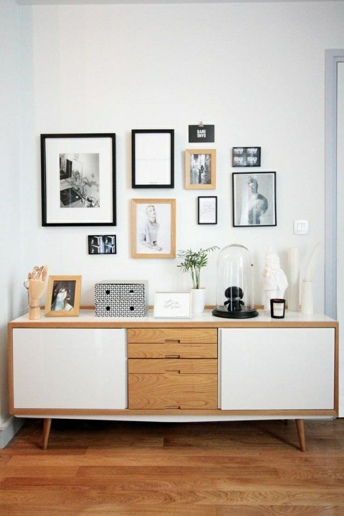 d co salon bahut ikea en bois pour le salon moderne avec. Black Bedroom Furniture Sets. Home Design Ideas