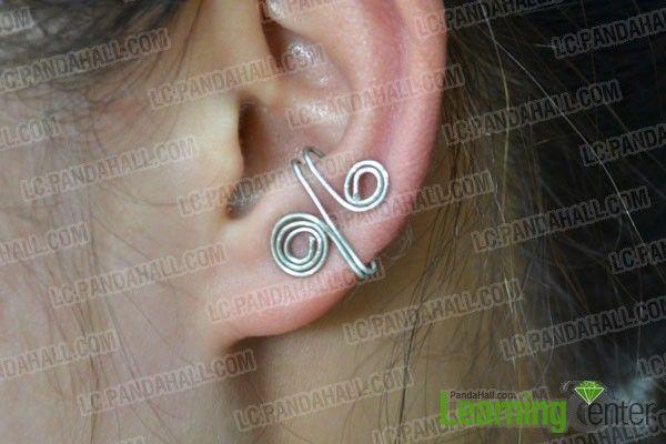 Diy Bijoux Free Patterns On Making A Simple Ear Cuff