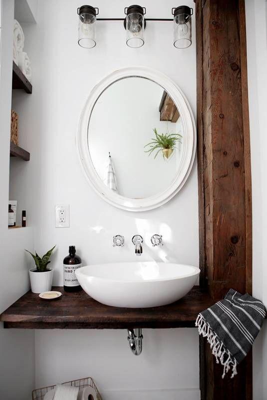 id e d coration salle de bain 16 stylish bathroom vanities you won 39 t believe you can diy low. Black Bedroom Furniture Sets. Home Design Ideas