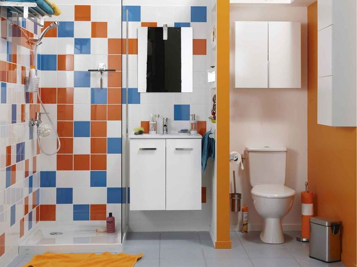 Id e d coration salle de bain bien am nager une petite salle de bains - Amenager une petite salle de bain ...