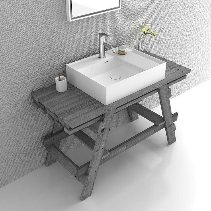 id e d coration salle de bain chloe meuble salle de bain 120 cm bois massif 3 coloris avec. Black Bedroom Furniture Sets. Home Design Ideas