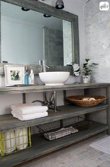 id e d coration salle de bain faire son meuble salle de bain plan vasque faire soi m me en. Black Bedroom Furniture Sets. Home Design Ideas