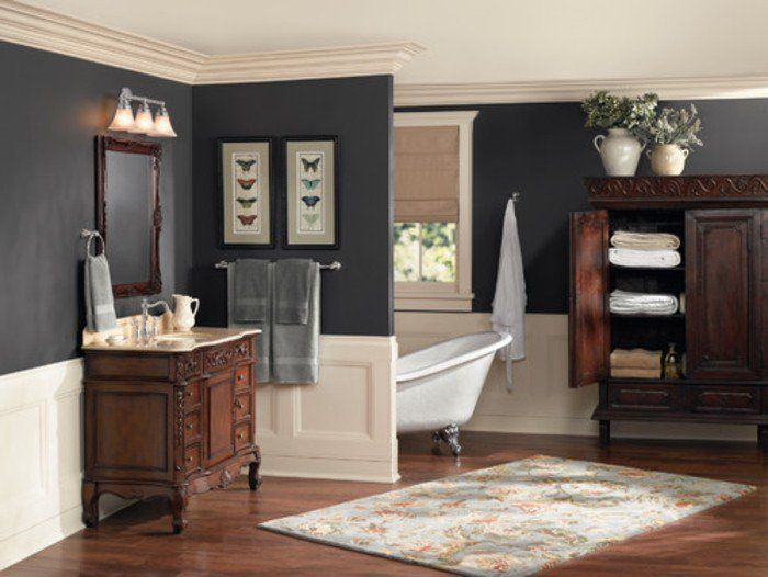 Idée décoration Salle de bain - formidable idée peinture ...