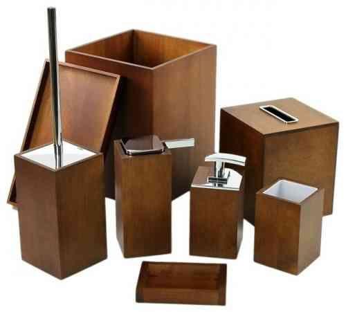 Id e d coration salle de bain id e d 39 accessoires en bois pour la salle de bain zen - Accessoires pour salle de bain ...