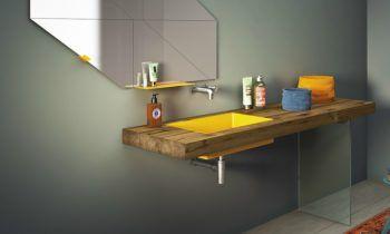 Idée décoration Salle de bain - lavabo salle de bain STEEL ...
