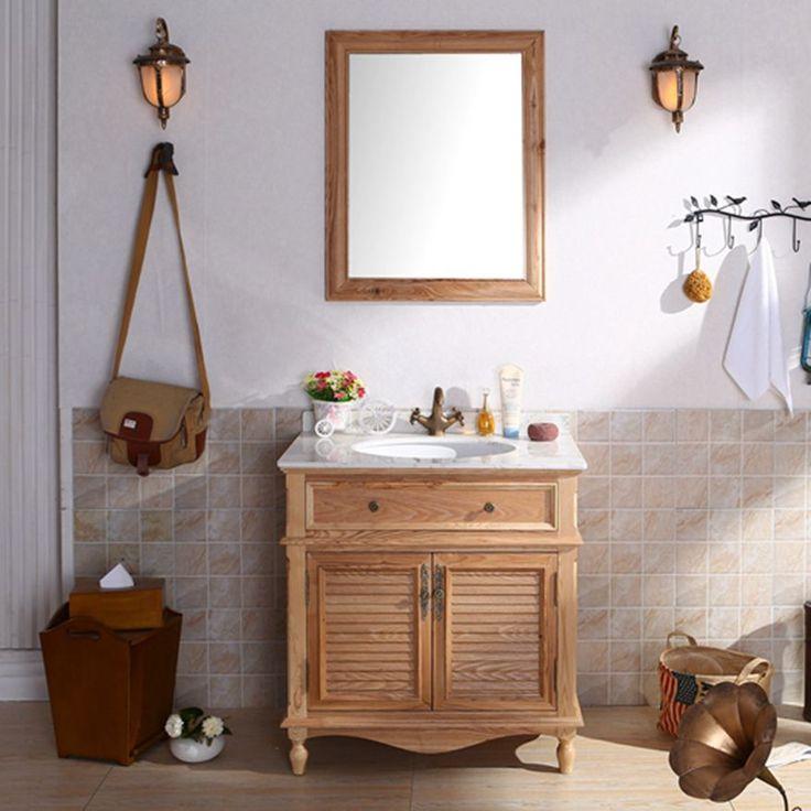 Id e d coration salle de bain meuble d co salle de bain - Deco salle de bain bois ...